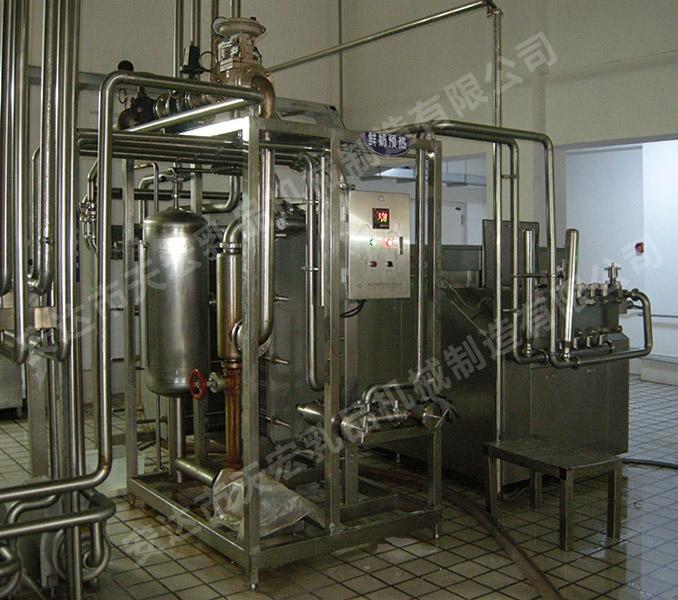 鲜奶生产线
